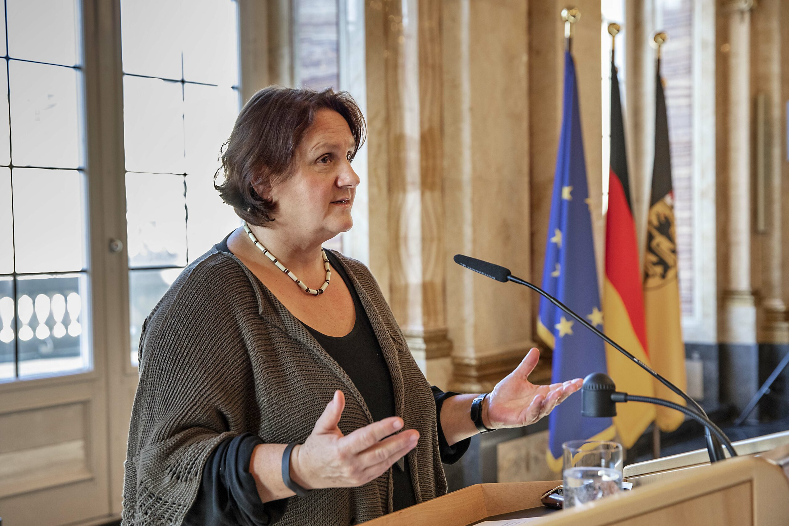 Staatsministerin Theresa Schopper